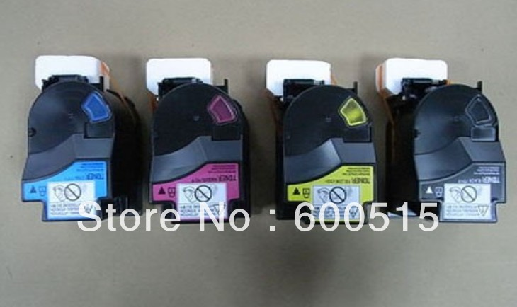 HOT Selling !!!  Compatible Konica Minolta TNP18 color toner cartridges  For magicolor  Konica 4750,4750DN C/M/BK/Y    4pcs /Lot