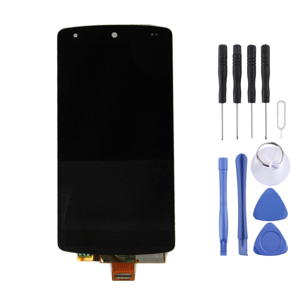 High Quality LCD Screen and Digitizer Full Assembly Lcd Replacement Glass For Google Nexus 5 / D820 / D821