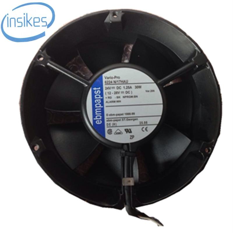 6224 N/17 Fan Function Treasure Printer Cooling Fan DC 24V 17W 0.75A 17251 172*151*51mm skil f0156224la 6224