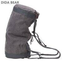Высокое качество для мужчин рюкзаки большой ёмкость дорожная сумка человек альпинизм рюкзак мужской водостойкий Холст ведро сумки на плеч...