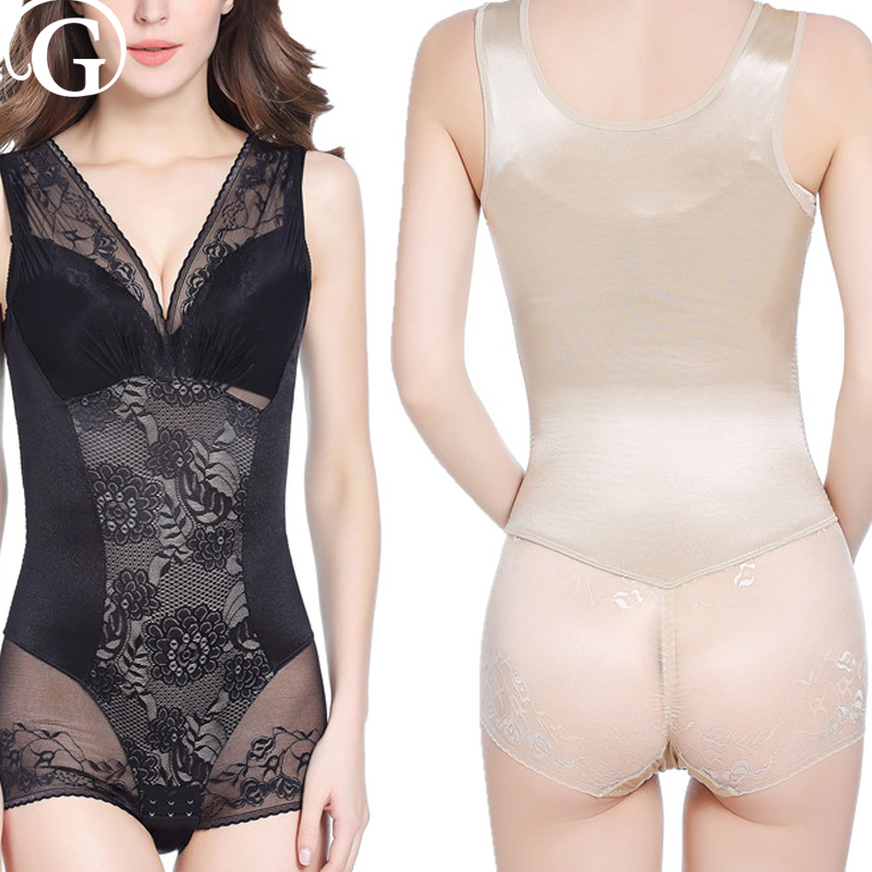 db5a6c1a374 PRAYGER Sexy Women Invisible Lift Bras Shapewear Control Abdomen Lift Butt  Body Shaper Bodysuits Waist underwear