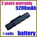 Jigu 6 celdas de batería para acer as07a31 as07a32 as07a41 as07a42 as07a51 as07a52 as07a71 as07a72 as07a75 as2007a ms2219