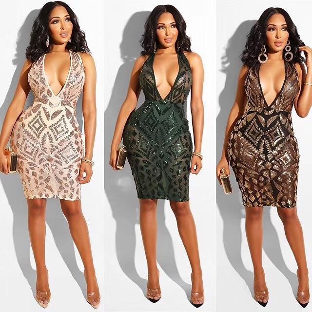 Tina Beauty Black Nude Color Match Round Neck Sleeveless
