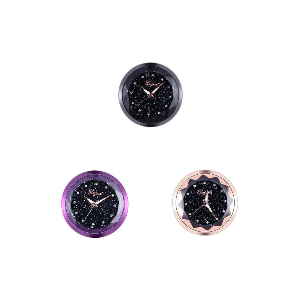 Reloj electrónico de decoración de coche de estilo nuevo con adorno de salpicadero Interior adhesivo automotriz