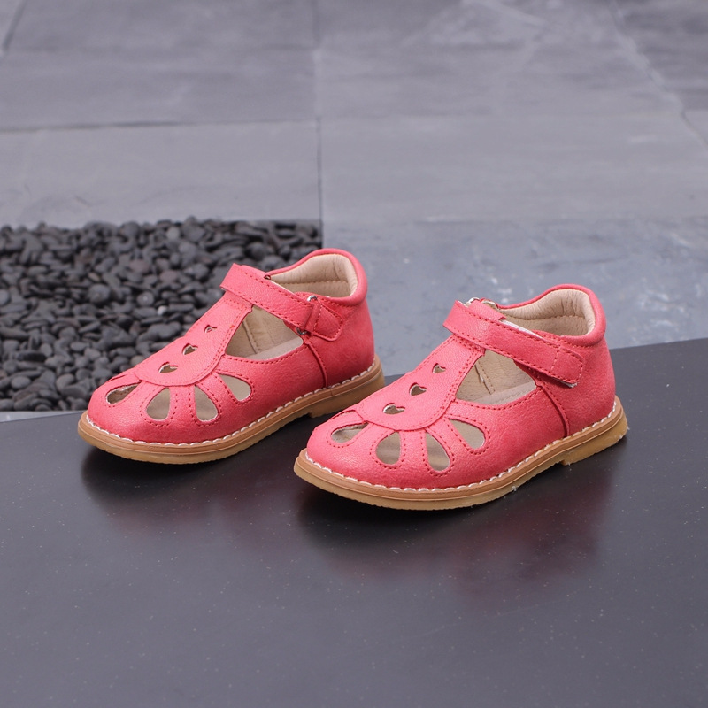 Girls Leather Shoes Hollow Baby Princess Shoes Kids Toddler Flats Children  Evening Shoes Girl Dress Flats f03822efbfef