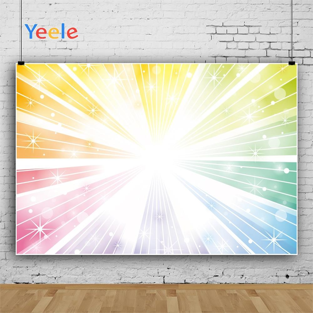 Yeele Wallpaper Party Color Glitter explosive Light Photography Backdrop Personalized Photographic Backgrounds For Photo Studio in Background from Consumer Electronics