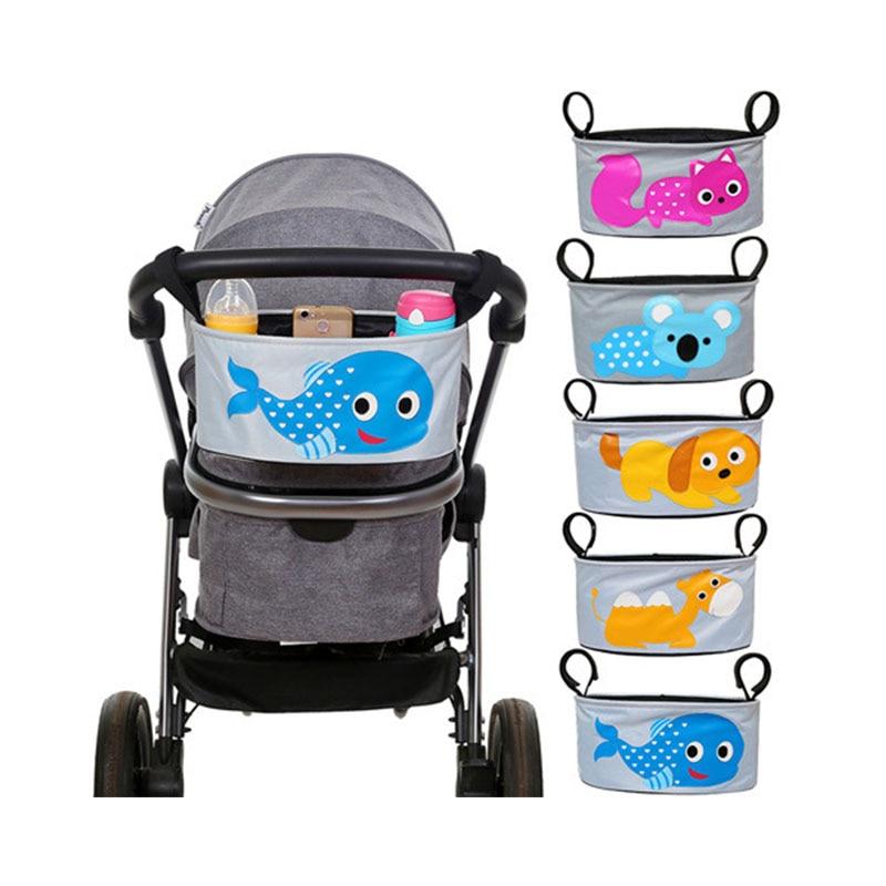 Hanging Bag Mommy Travel Shoulder Baby Care Baby Stroller Storage Bag Baby Capacity Diaper Bag Baby Stroller Accessories