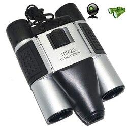 1.3MP CMOS Sensor 10X25 Binoculars Digital Camera 101m/1000m USB Telescope for Tourism Hunting Photo DVR Video Recording TF