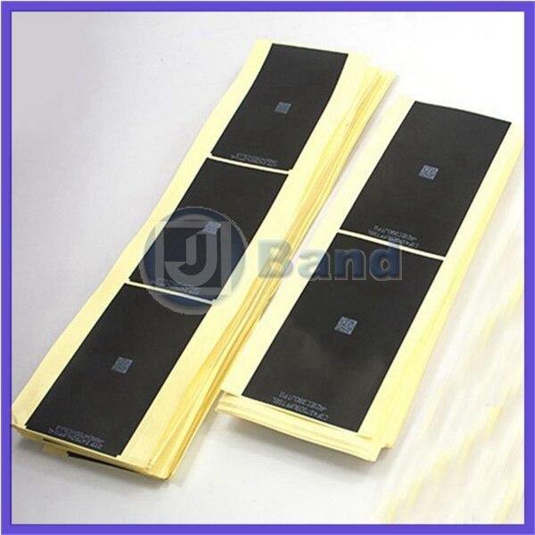 1000pcs lot 2015 Premium Black LCD Backlight Sticker Film Refurbishment Replacement Parts For iPhone 6 6G
