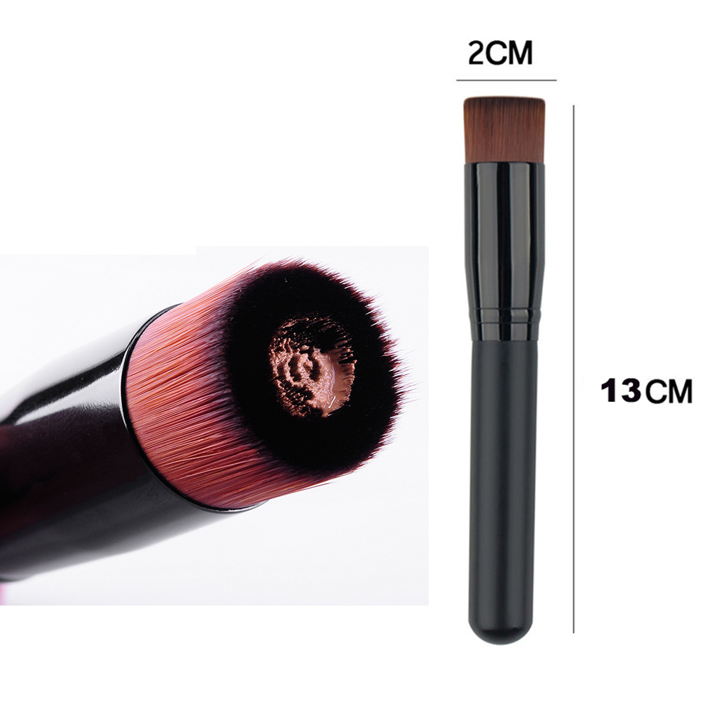 Makeup Brush BB Cream Brushes Foundation Cosmetic Beauty Tool Wholesale Makeup Brush Black concave Shape Quick Makeup Brushes gardening tool small rake black cream colored