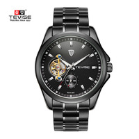 TEVISE High Quality New Arrival Men Watches Top Brand Luxury Business Waterproof Watches Men Automatic Mechanical