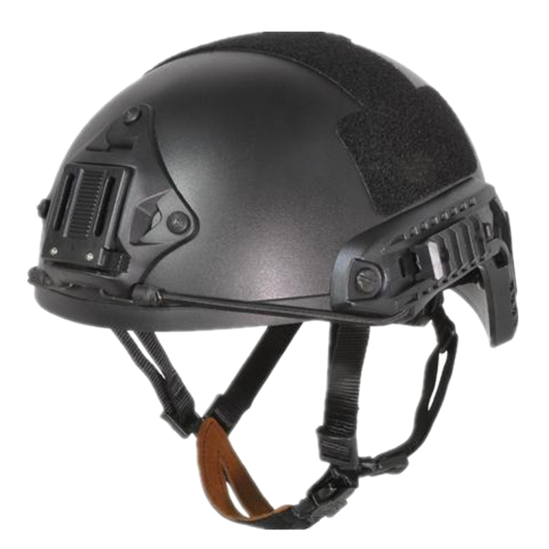 Tactical Fast Ballistic Helmet Sports Base Jump Fast Cycling Helmet ABS Material Black DE FG Size M L