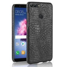 For Huawei Enjoy 7S Case Luxury Crocodile Skin Hard Cover Phone 7 S 5.65 inch