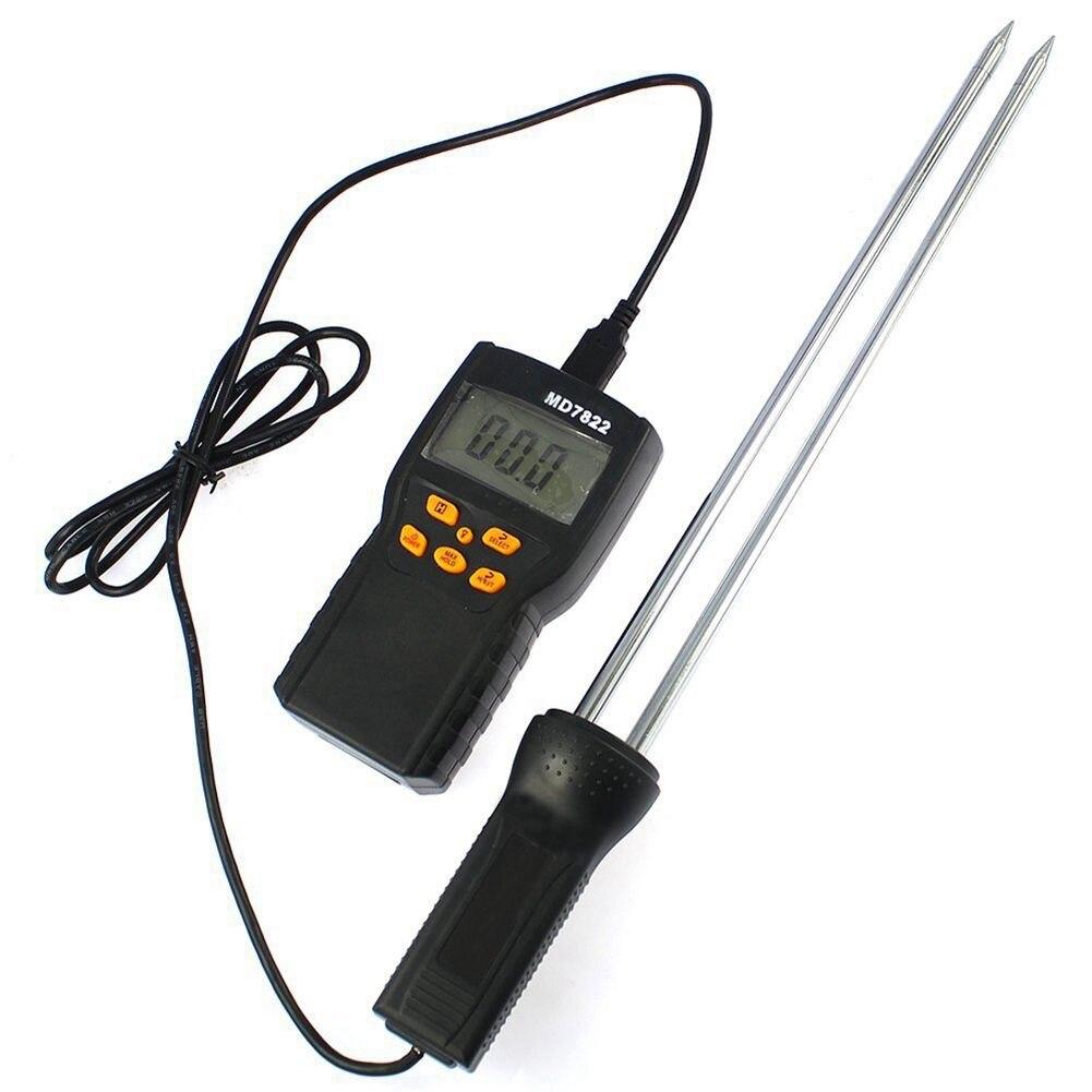 Numérique Grain Mètre Humidimètre MD-7822 Smart Sensor Compteur Utiliser Pour Le Maïs, Blé, Riz, De Haricots, farine de blé Fourrage Graines De Colza