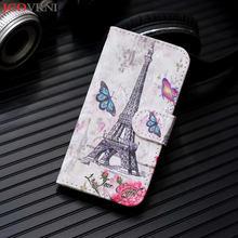 JCOVRNI 3D печать картина маслом мобильный телефон кобура для iphone Xr xs xsmax с рукавом карты функция для iphone 8 7 plus