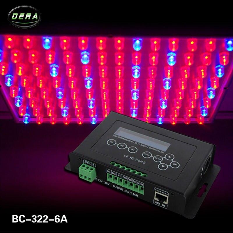 Bincolor Timer dimmer controller DC12V 36V aquarium controller plant light controller BC 322 6A - 2