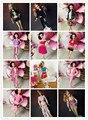 Дети Девушки Подарок Куклу Accessories30items = Одежда + Обувь + Вешалки Типа Смешивания Цвета смешивания вечернее платье много Для Barbie кукла