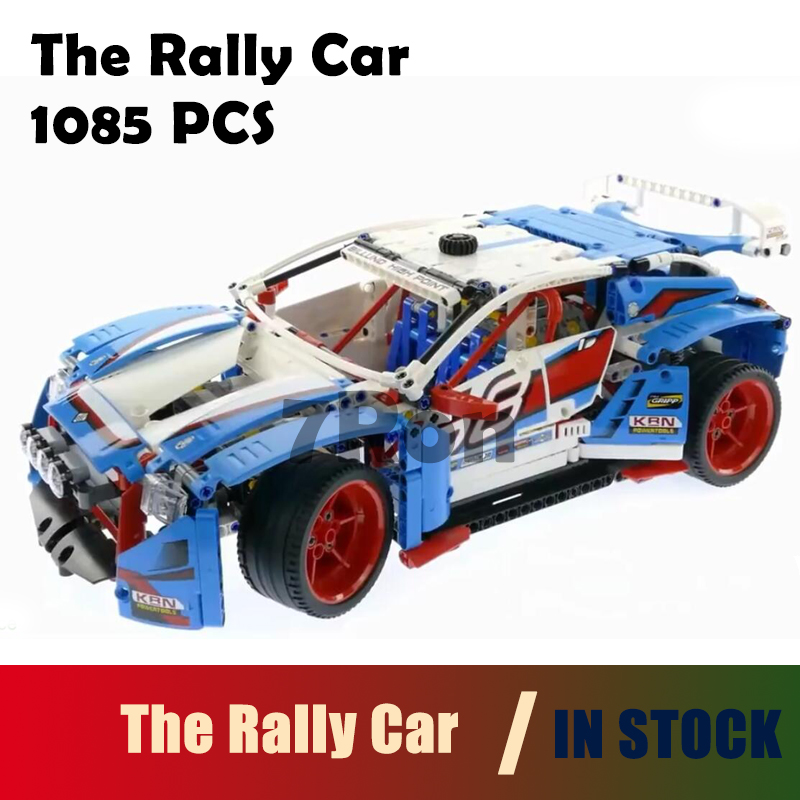 Model building toys hobbies 20077 Genuine 1085Pcs Compatible With lego Technic Rally Car 42077 Blocks Bricks Educational Gifts shirly new rest stop dream house building blocks compatible with lego bricks girl s educational toys birthday christmas gifts