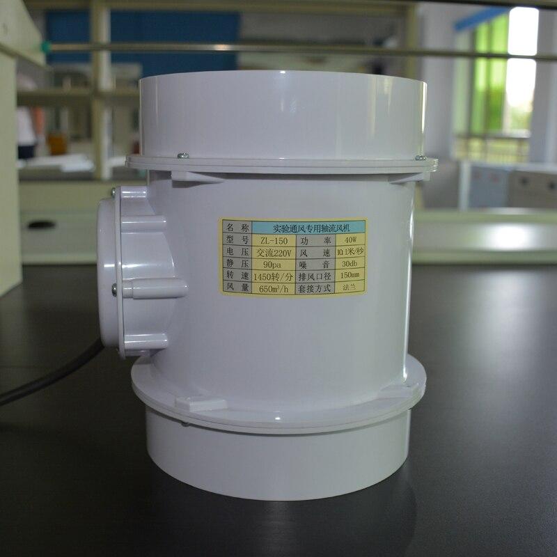 PP ventilateur anticorrosion pour une utilisation expérience polypropylène hotte aspirante pour test chimique ou à haute température