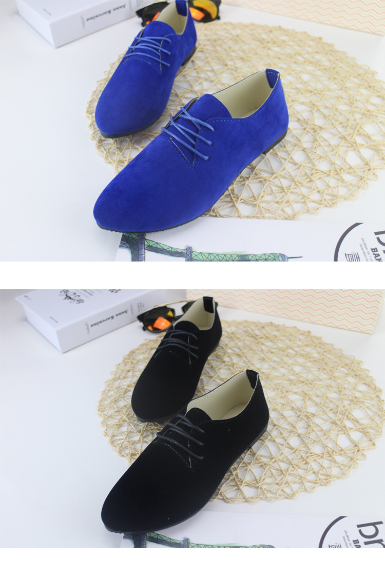 Candy Color Women Shoes Flats Loafers