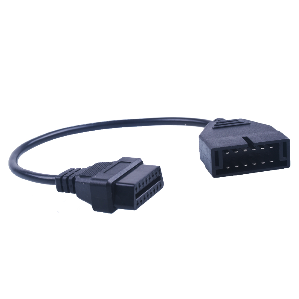 Gm 12 pin obd obd2 connector for gm 12pin adapter to 16pin for gm cars - For Gm 12 Pin 12pin Obd 2 Connector Adapter Gm 12 Pin Obd2 Obdii Auto Car
