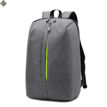 FUSHAN Men's Backpacks Unisex Multipurpose Women Backpack School Bags for 14 Laptop Notebook Mochila Feminina