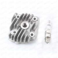 40mm - 47mm 1PE40QMB CYLINDER HEAD+ E6TC spark plugs for Adly Her Chee ATV 50RS XXL Supersonic ATV 50V ATV XXL Supercross 50 2T