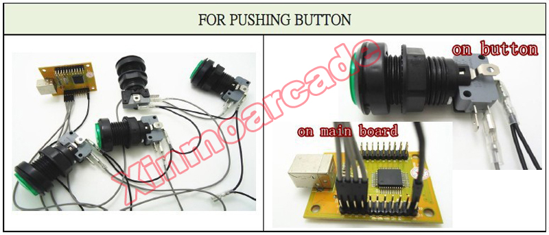 x for pushbutton