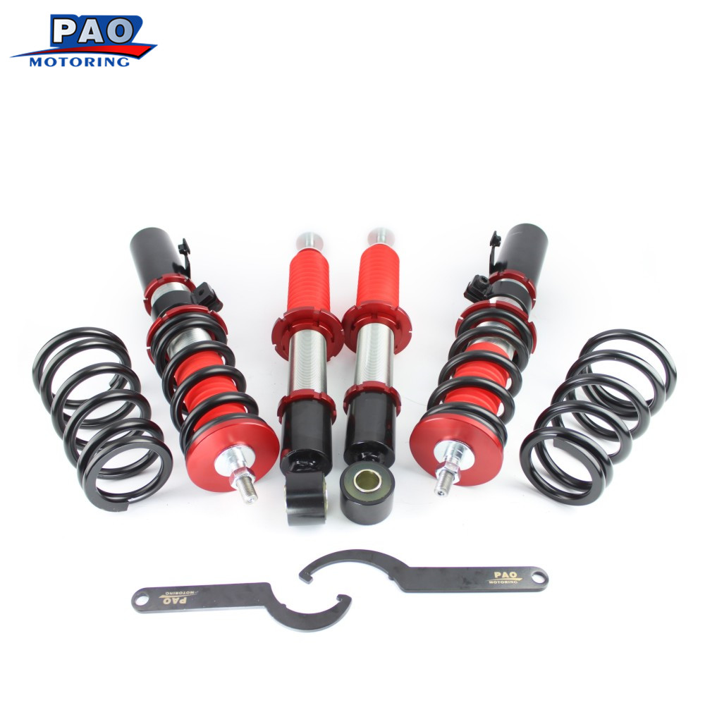 Toyota Celica Suspension Parts And Kits: PAO MOTORING Coilover Spring Shock Absorber Kit For Toyota