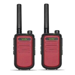 Image 3 - 2 Chiếc 100% Nguyên Bản WLN KD C10 Bộ Đàm UHF 400 470MHz 16 Mini 2 Chiều Đài Phát Thanh fmr PMR KDC10 Hàm Đài Phát Thanh Amador