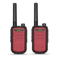 מכשיר הקשר 2pcs 100% מקורי WLN KDC10 מכשיר הקשר UHF 400-470MHz 16 אמאדור רדיו Ham ערוץ Mini שני הדרך רדיו תחנת FMR PMR KDC10 (3)