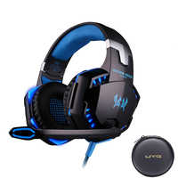 UYG G2000 Wired Gaming Headset gamer gaming Headphones earphones With Microphone LED Light headphone for computer PC