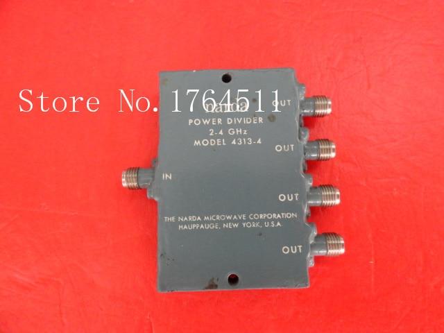 [BELLA] Narda 4313-4 2-4GHz A Four Supply Divider SMA