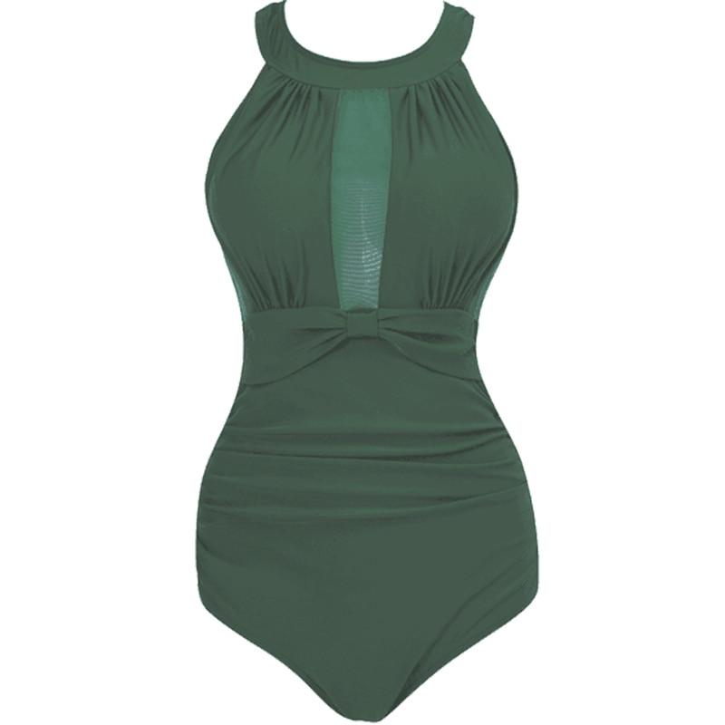 Tank Heart Sexy Potos One-Piece Suits Monokini Plus Size Swimwear Women One Piece Swimsuit girls Badpak Swim Bathing Suit Women