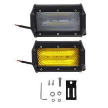 Led Work Light Bar 5 Inch 72W 10800LM Off Road Lights IP67 Waterproof