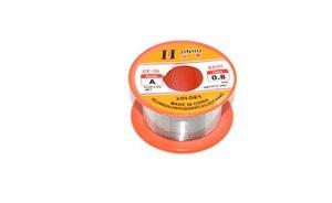 Image 5 - Оловянная свинцовая проволока 0,3/0,4/0,5/0,6/0,8/1/1.2/1.5/2.0 мм 50/100 г 2.0% Оловянная свинцовая проволока, канифольный сердечник, припой, бухта провода для пайки