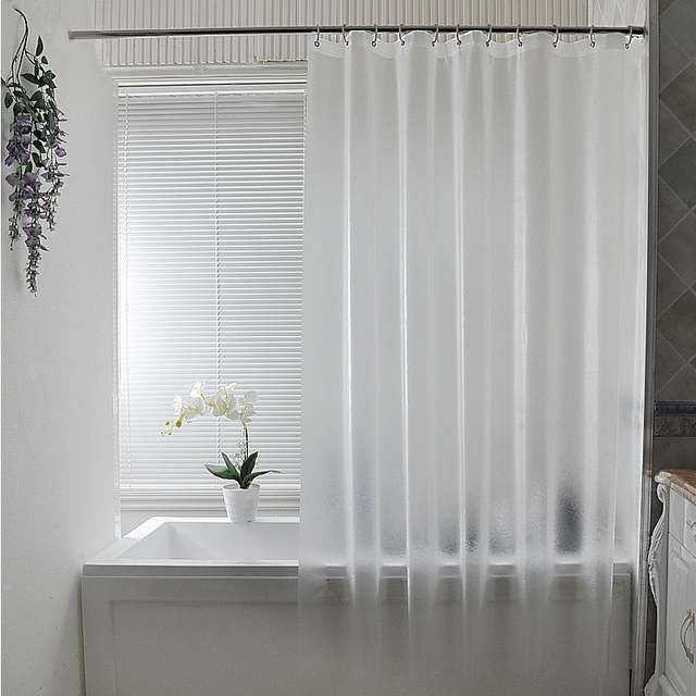 Thick waterproof shower curtain fabric shower waterproof matte ...