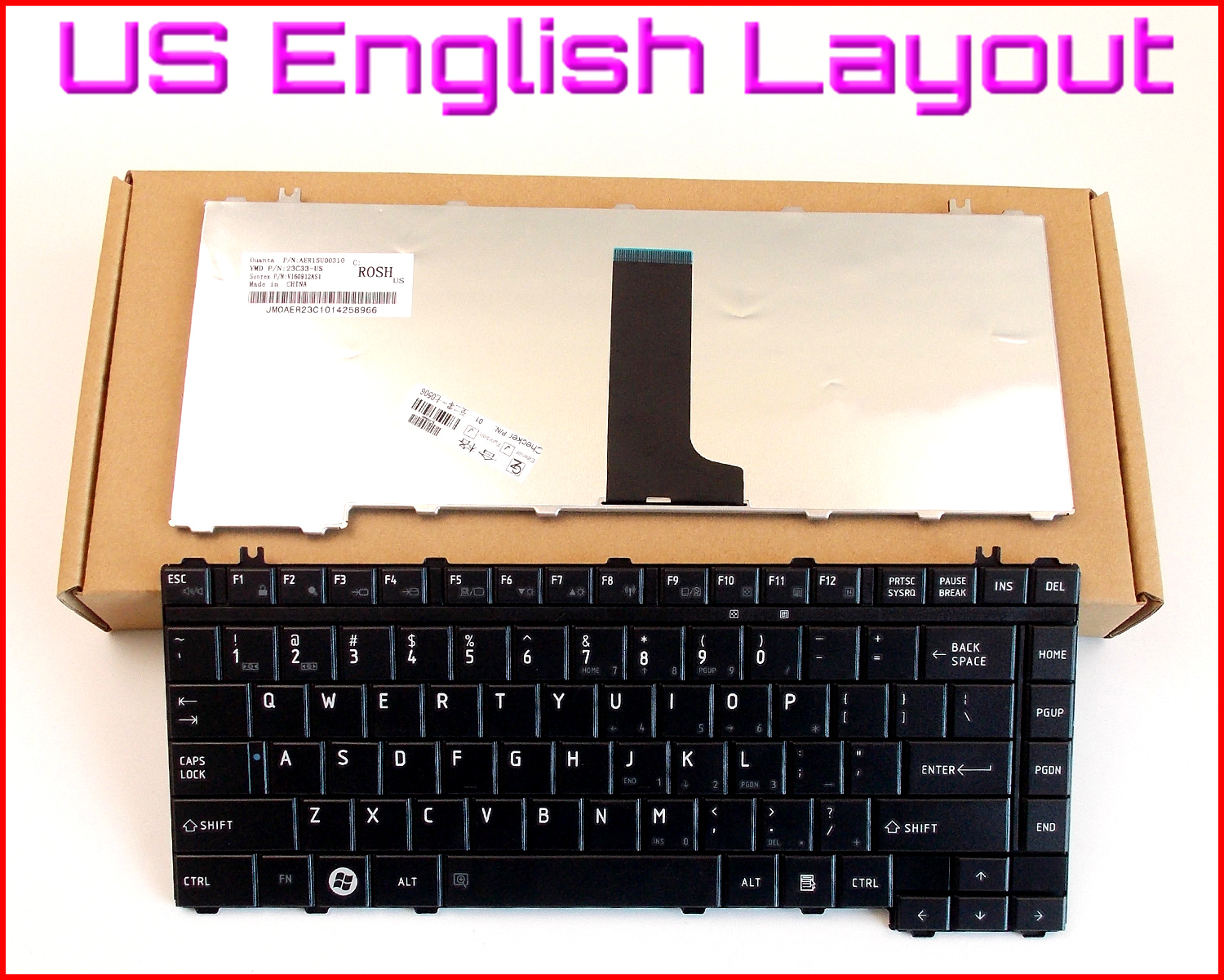 New US English Layout Keyboard for Toshiba Satellite A200 A205 L305 L305D A310 A315 M300 M305 M305D A300 A300D L300 L300D Laptop 14pcs lot tangle free debris extractor replacement kit for irobot roomba 800 900 series 870 880 980 vacuum robots accessory pa
