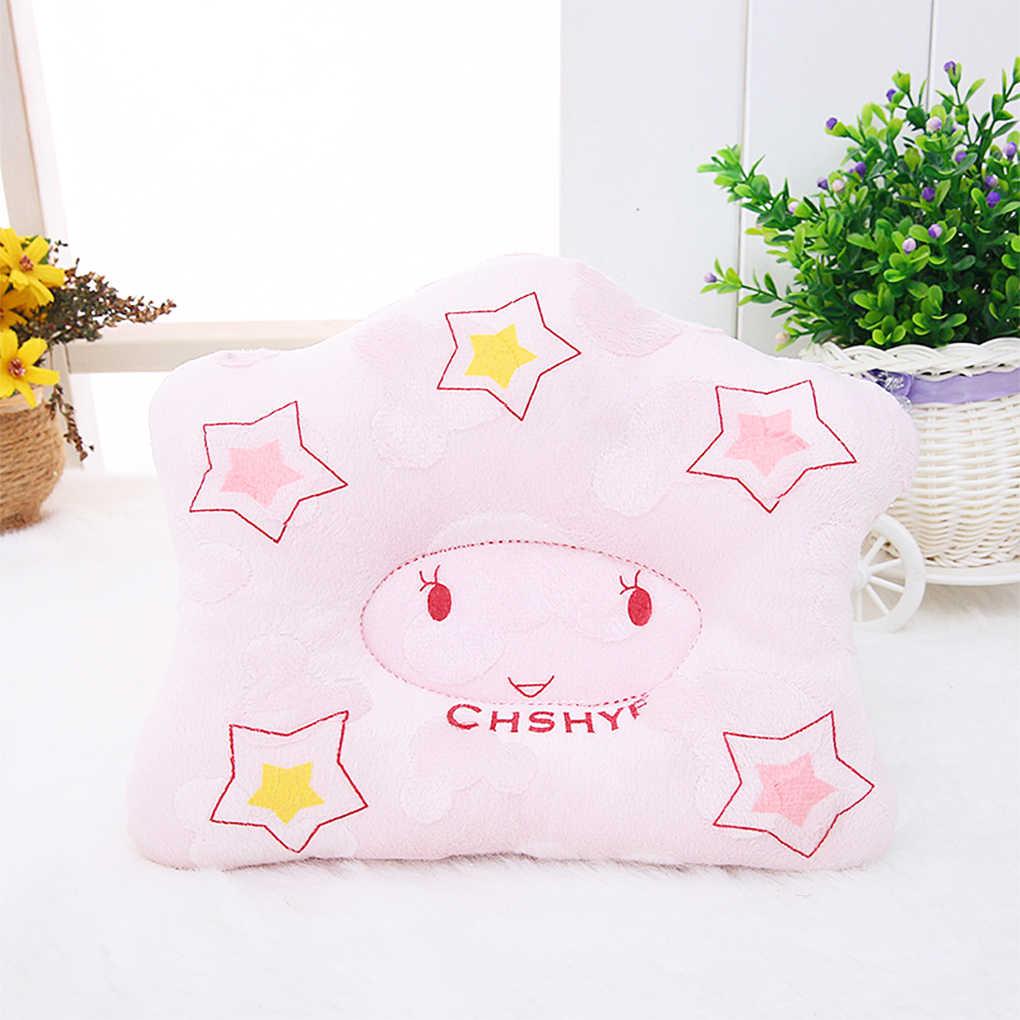 Новые для маленьких мальчиков подушка для девочек младенческой звезда Форма малыша спать Подушка плоская подушка для головы подголовник подушки Предотвращение плоской