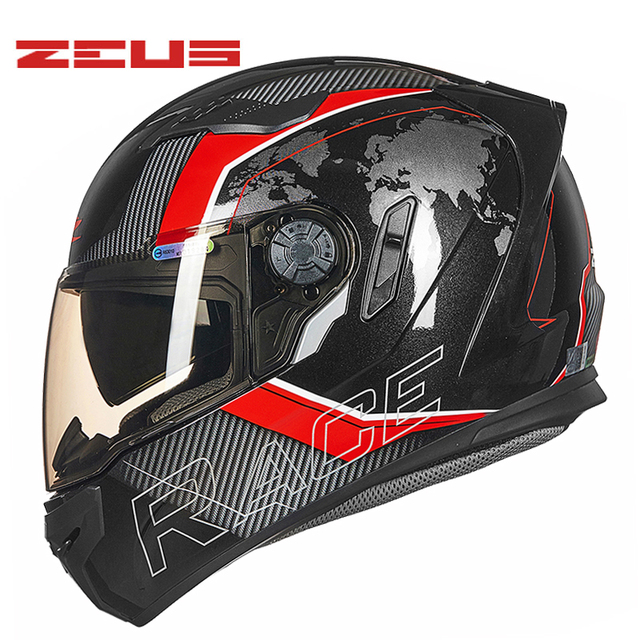 Dot Zeus Zs 813 Full Face Motocross Helmet Motorcycle Moto Electric Motorbike Safety Dual Visor Helmets Dual Visor Helmet Motocross Helmetfull Face Motocross Helmet Aliexpress