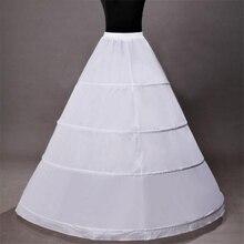 3 обручальное бальное платье свадебная Нижняя юбка для невесты брак тюлевый кринолин нижняя свадебные аксессуары