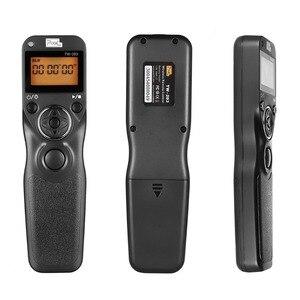 Image 2 - Pixel TW 283 DC0 Cámara temporizador inalámbrico Disparador remoto Control de liberación Cable para Nikon D800E D800 D810 D810A D700 D500 D5 D200