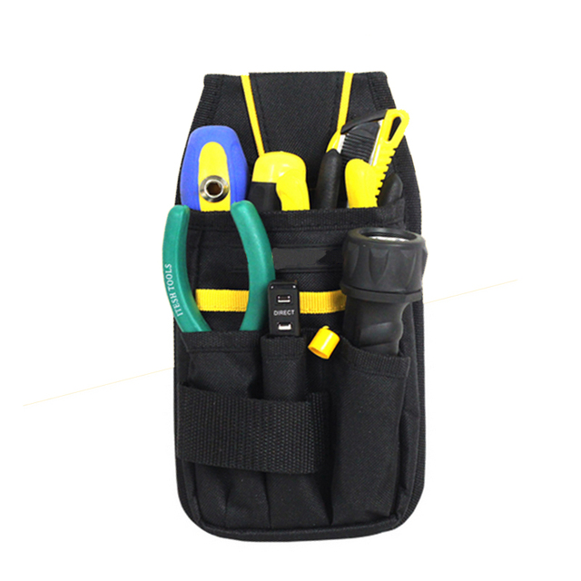 7 pockets utility waist tool bag tool pouch 600d tool bag working tools