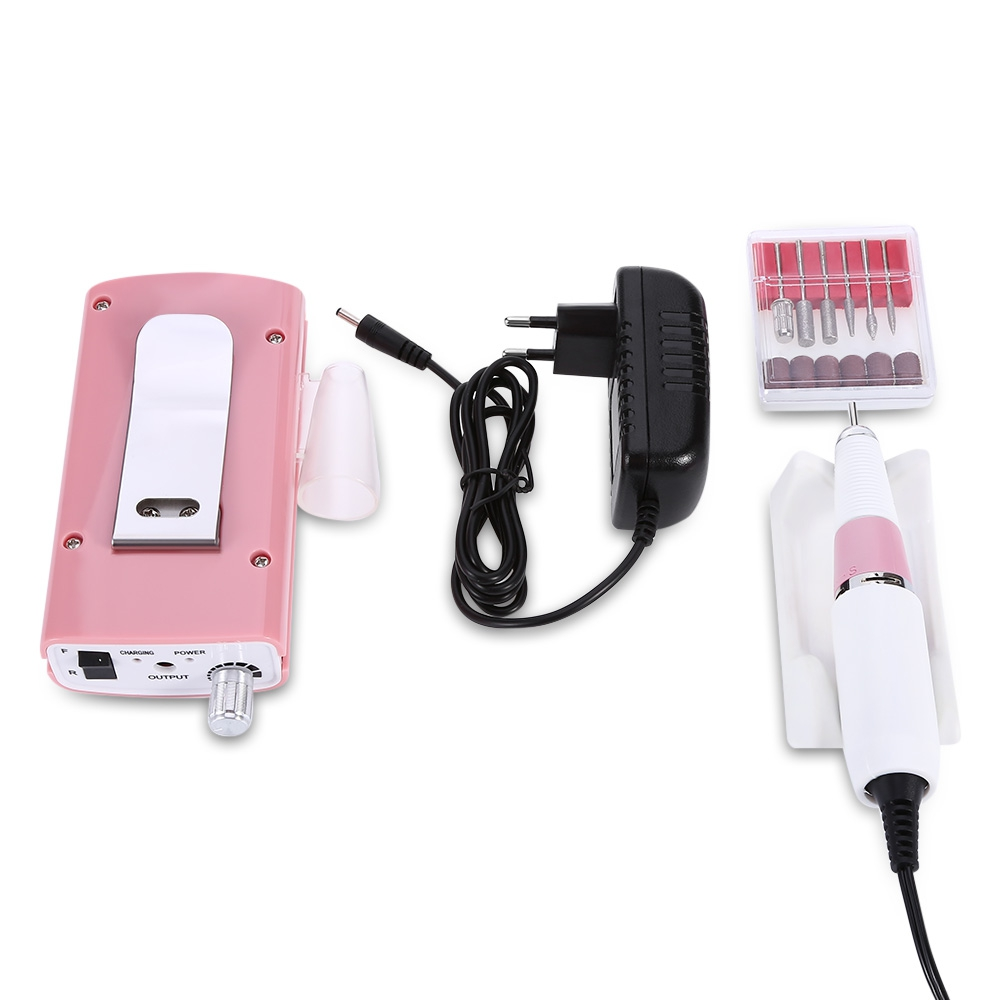 Professional Nail Manicure Tools Pedicure Files Electric Grinding Polisher Glazing Machine Manicure Drill Accessories EU/US PLUG professional white electric nail manicure file manicure kit 220v eu plug nail tools for nail gel