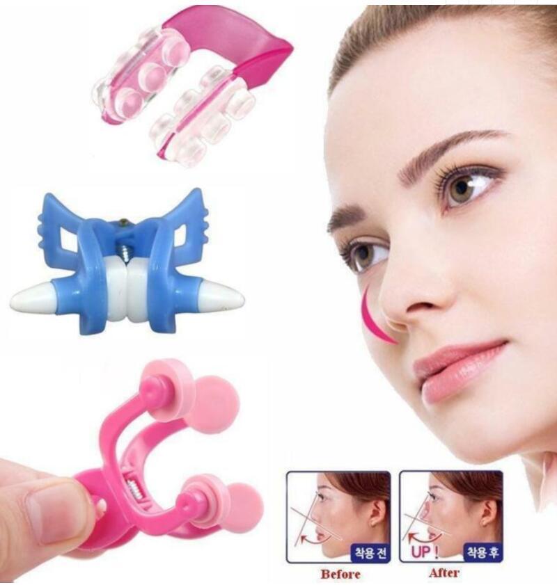 Клипса для носа, формирующий шейпер, массажер для подъема моста, выпрямления, косметические клипсы, массажер, инструменты для ухода за лицом