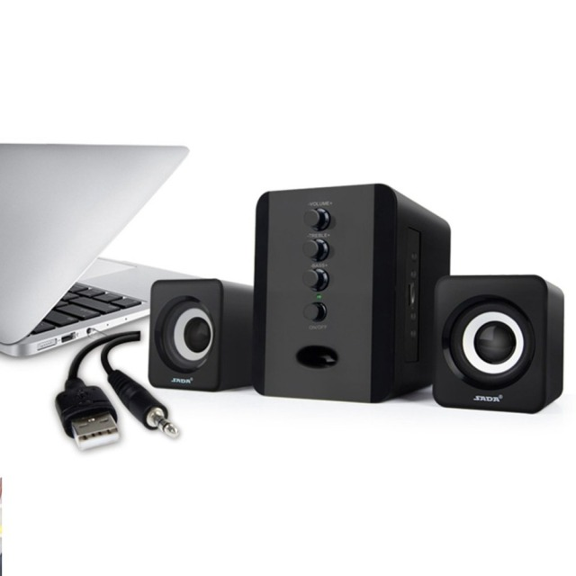 3 5mm jack usb wired music loudspeakedurable laptop subwoofer rh aliexpress com