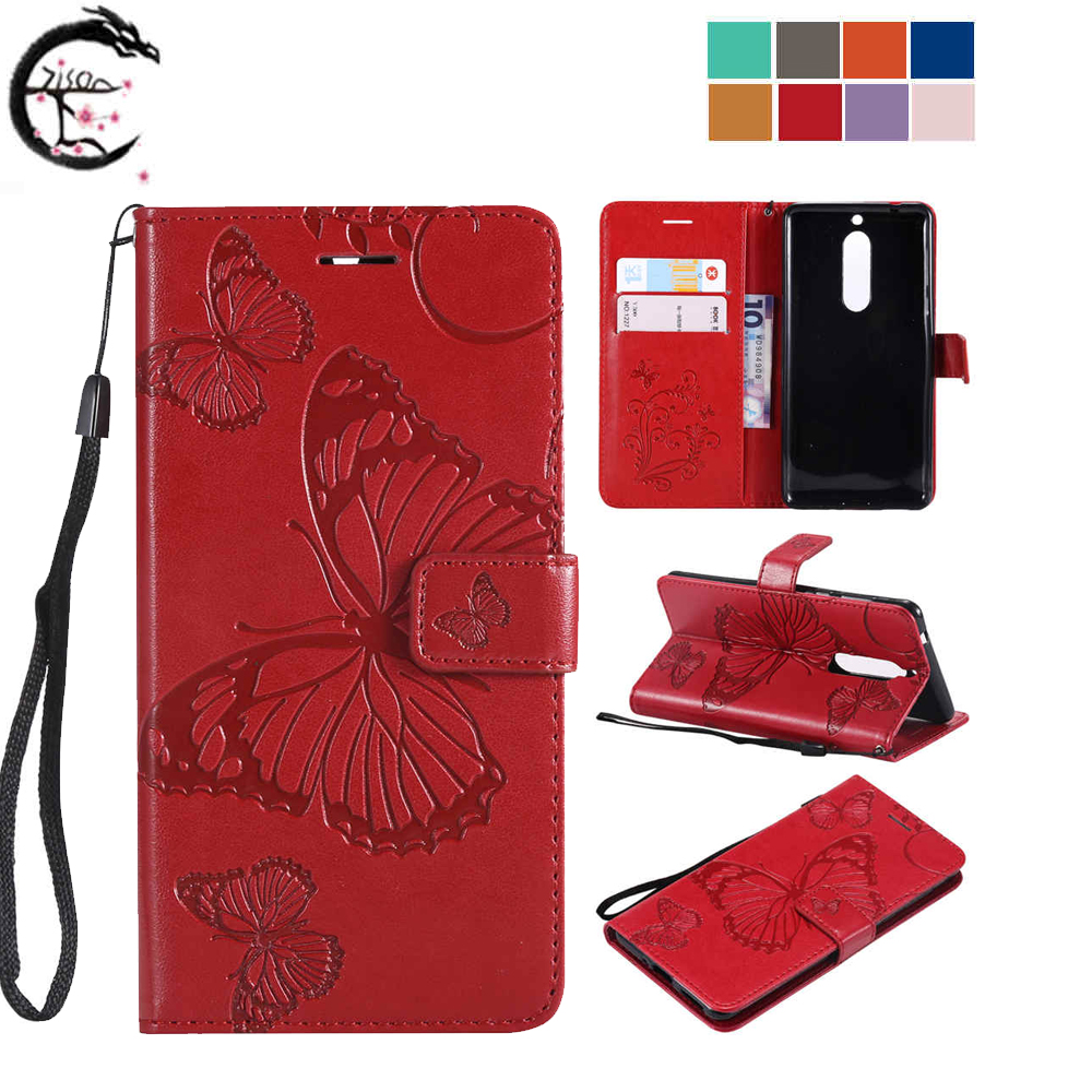 Flip Cover <font><b>For</b></font> <font><b>Nokia</b></font> 5 <font><b>TA</b></font>-1053 <font><b>TA</b></font>-1024 <font><b>TA</b></font>-1027 Leather <font><b>Case</b></font> 5.1 <font><b>TA</b></font>-<font><b>1075</b></font> 1061 1088 <font><b>TA</b></font>-1076 Phone <font><b>Cases</b></font> Wallet Shell Card Casing image