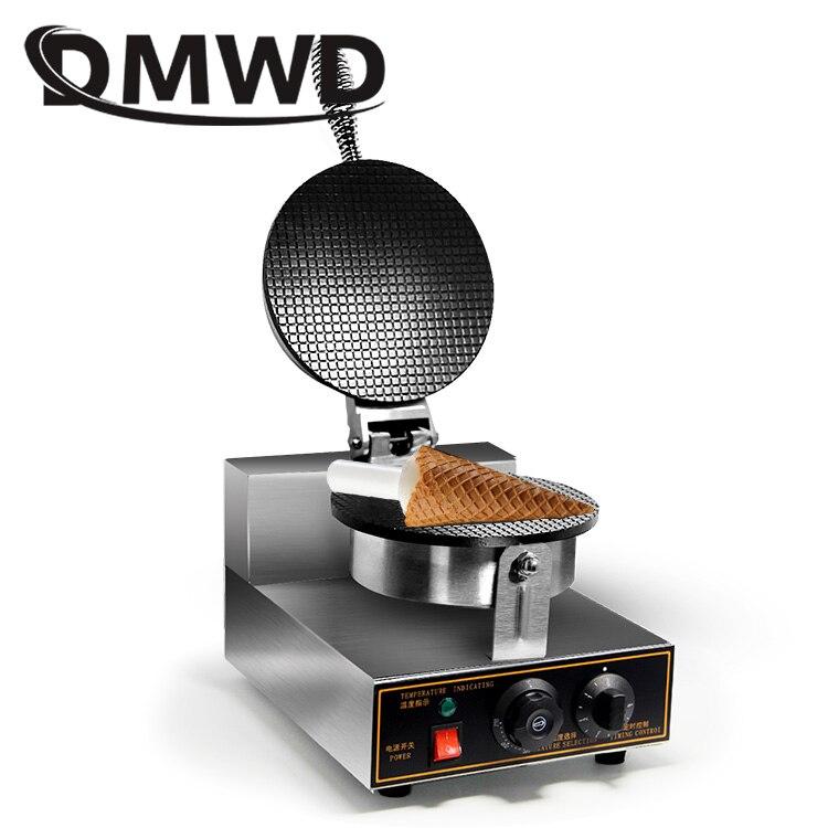 Électrique cornet de crème glacée maker Palacinka baker cône de cuisson machine crêpe faisant la machine croustillant egg roll 1kw 110 V 220 V US plug UE