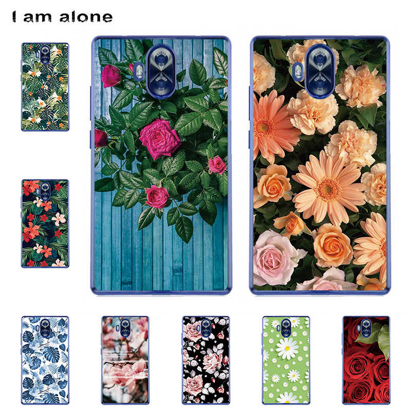 I am alone Phone Cases For Doogee Mix Lite 5.2 inch Solf TPU Cellphone Fashion Cute Animals Shell For Doogee Mix Lite