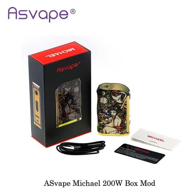 New Version Original ASvape Michael 200W Mod Kit OUT DIY/TC
